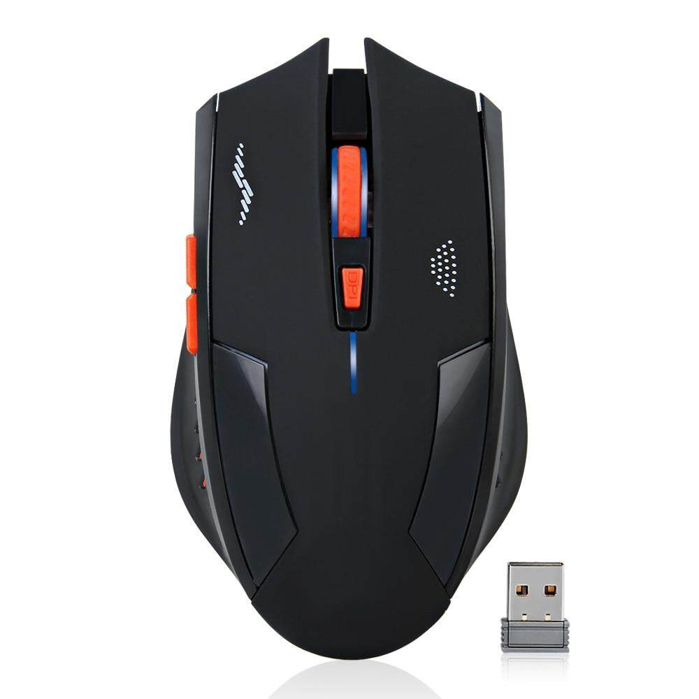 c19fe777ef3 imice Rechargeable Mouse Wireless 2400DPI 2.4G USB Gaming mouse Silence  Built-in Lithium Battery