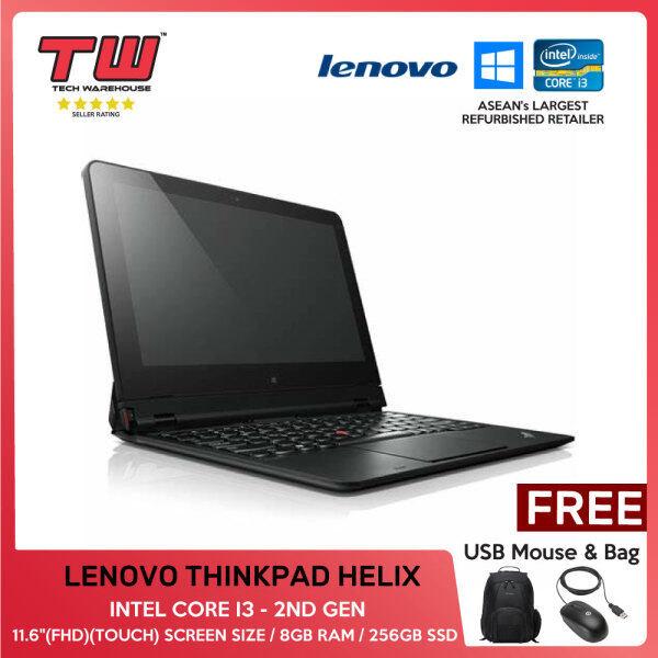 LENOVO THINKPAD HELIX (2ND GEN) (TOUCH) /INTEL CORE I3 - 5Y71/ LAPTOP/ 11.6 / 8GB RAM / 256GB SSD/TECH WAREHOUSE (FACTORY REFURBISHED) Malaysia