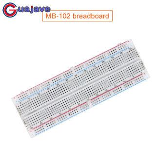 Guajave MB-102 Breadboard Mô-đun Cấp Nguồn 830 Điểm 3.3V 5V thumbnail