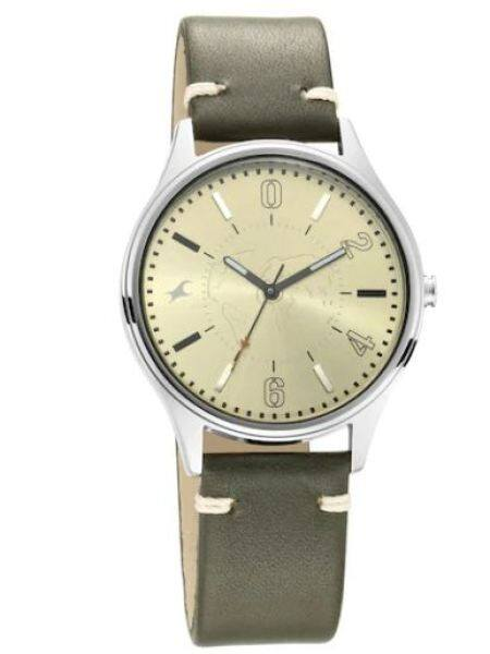 FASTRACK 3237SL02 - TRIPSTER KHAKEE DIAL LEATHER STRAP Malaysia