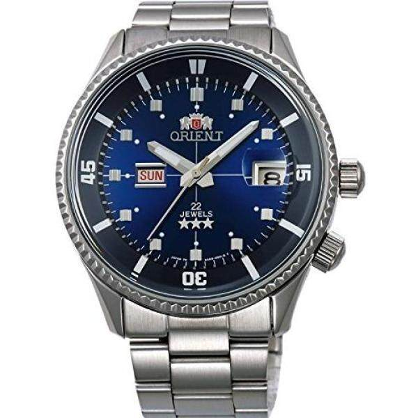 [Orient Watch] Wristwatch Sporty King Master Blue WV0031AA Silver Malaysia