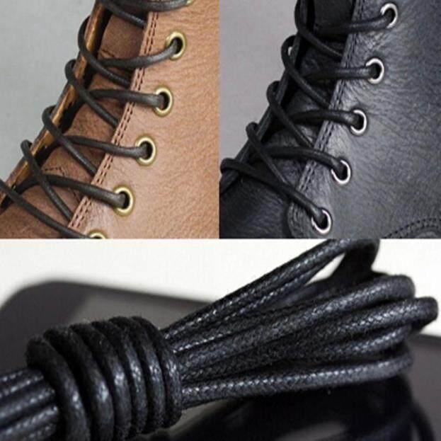 Giày Tròn Phủ Sáp Dây Giày Giày Bốt Giày Brogues Da, Nhiều Màu 27.6 giá rẻ