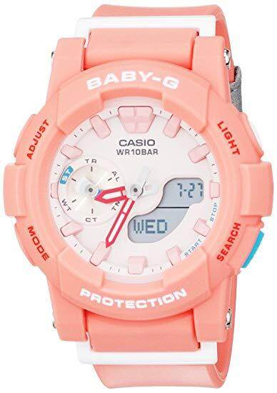 Special Promotion CASI0 BABY_G_BGA-185FS-2ADR Sport dual Watch For Women Malaysia