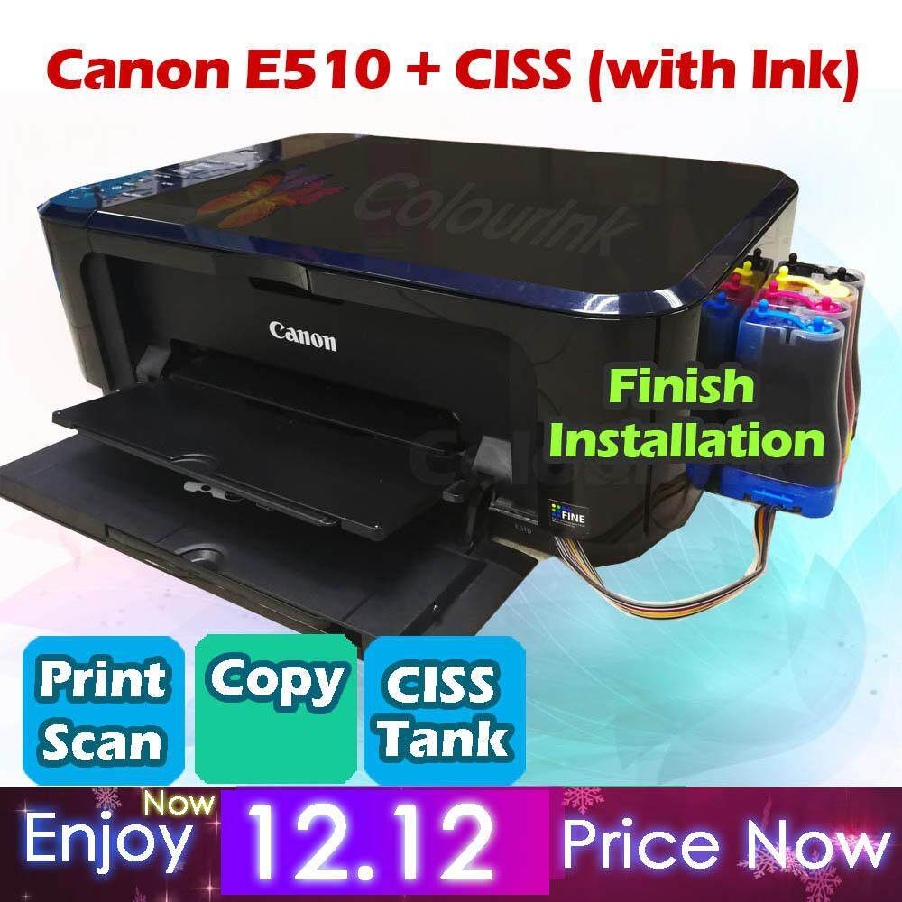Canon Printers Accessories Price In Malaysia Best G3000 All One Wi Fi Printer E510 With Ciss