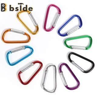 [Bside Tool Store] 10 Cái Carabiner Keychain Clip Leo Núi Ngoài Trời Móc Khóa Móc Khóa (Ngẫu Nhiên) thumbnail