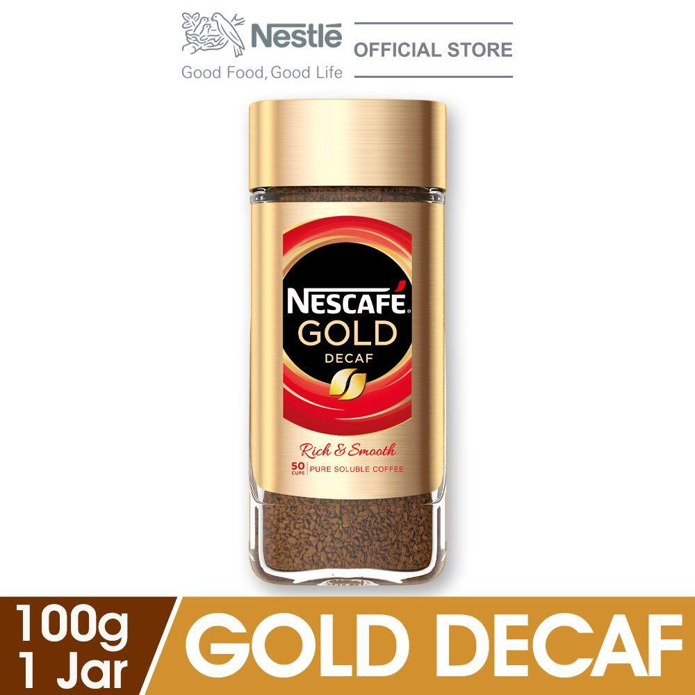 Nescafe Gold Decaffeinated 100g By Lazada Retail Nescafe.