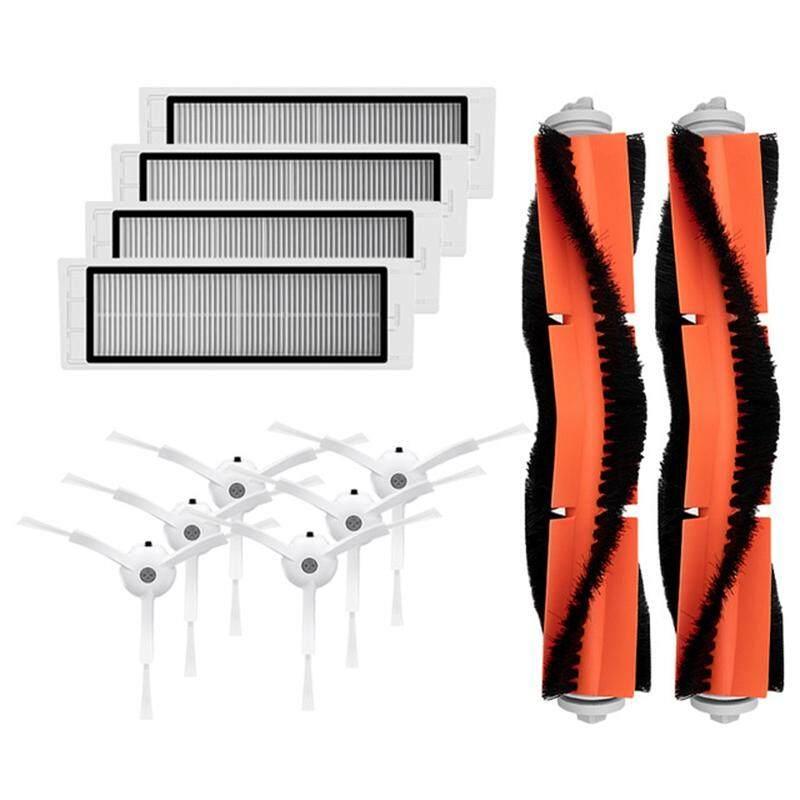 6 X Side Brush + 4 X Hepa Filter + 2 X Main Brush For Xiaomi Vacuum 2 Roborock S50 Mi Robot Vacuum Cleaner Parts Accessory