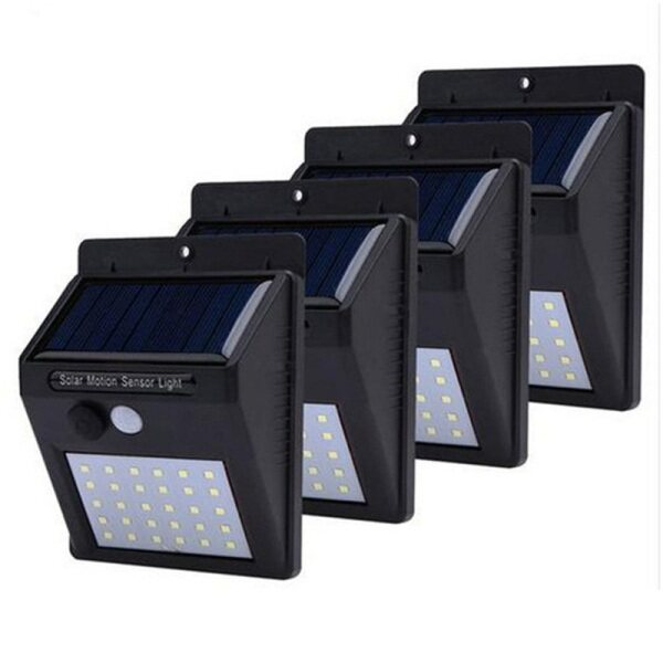 4PCS/ 6PCS COMBO 30 LED/ 48 COB Solar Power PIR Motion Sensor Wall Light Outdoor Waterproof Garden