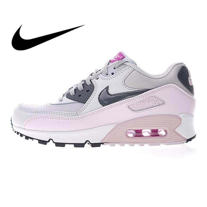 สอนใช้งาน  ชัยภูมิ Original Authentic Nike_AIR_Max_90 Women s Running Shoes Sports Outdoor Sneakers Shock Absorbing Lightweight Durable 616730-112