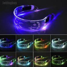[Jettingbuy] Kính LED Dây EL Neon Party Đèn LED Sáng Chói Kính LED Trang Trí Tiệc Khiêu Vũ