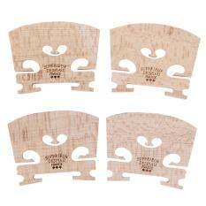 4 chiếc cầu gỗ maple cho 4/4-3/4 bộ phận nhạc cụ Violin