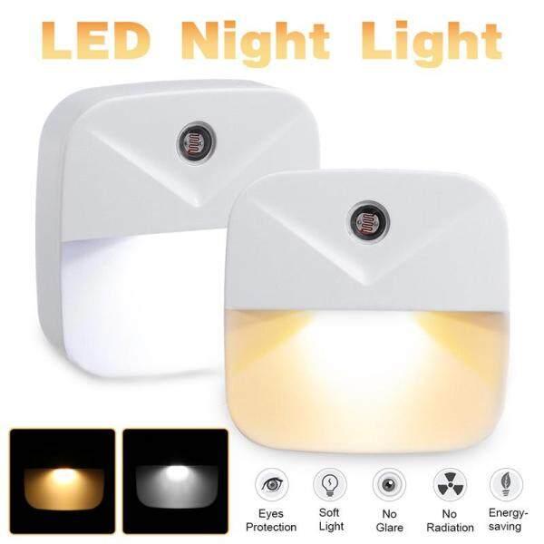 Mini Đèn LED Thông Minh Đèn Đêm Plug-In Đèn Tường Kiểm Soát Cảm Biến Ánh Sáng Dusk-To-Dawn Phích Cắm Chuẩn Mỹ AC110V-220V Trắng/Màu Trắng Ấm Cho Trẻ Em Nhà Phòng Ngủ An Ninh đèn ngủ