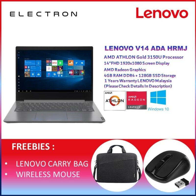 Lenovo V14 ADA 82C600HRMJ 14 FHD Laptop Iron Grey ( Athlon 3150U, 4GB, 128GB SSD, Intel, W10 ) Malaysia
