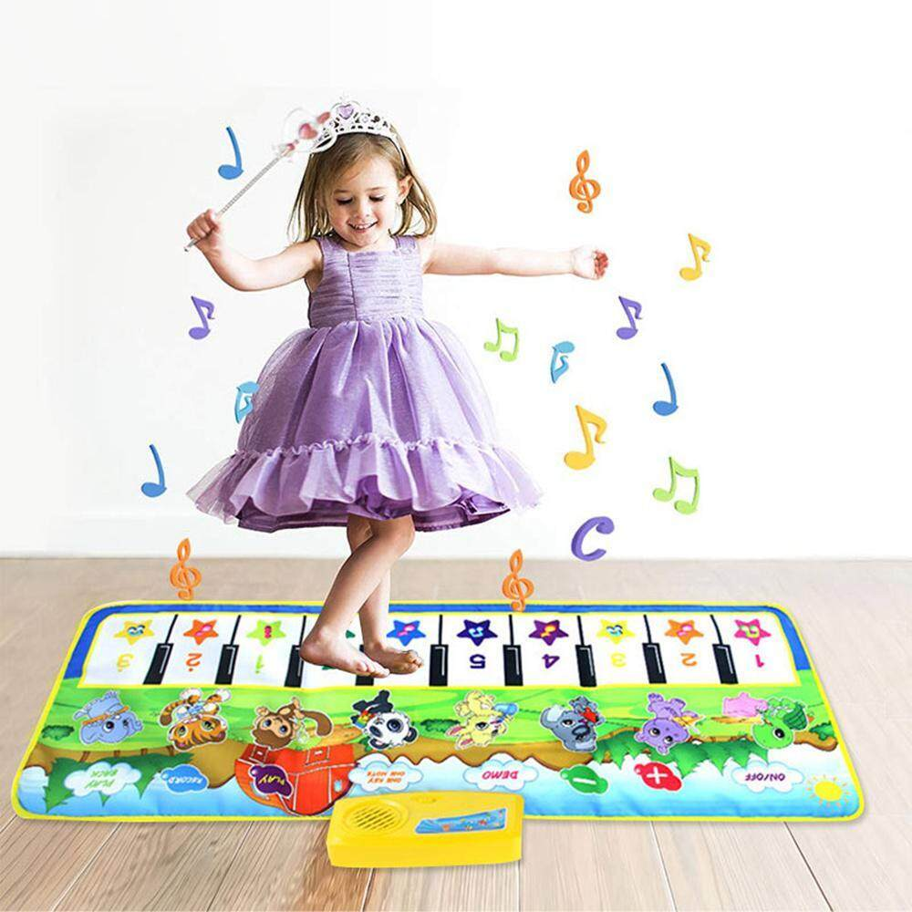 Buyinbulk Baby Piano Play Mat, Baby Kid Musical Piano Carpet Crawling Mat Education Learning Toys By Buyinbulk.