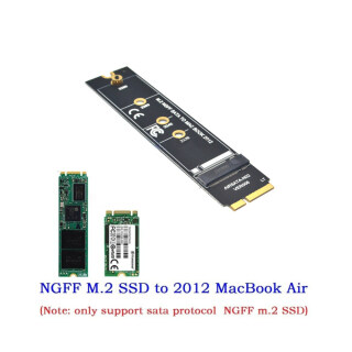 Bộ Chuyển Đổi M.2 NGFF SATA SSD, Thẻ Cho MacBook Air A1465 A1466 2012 thumbnail