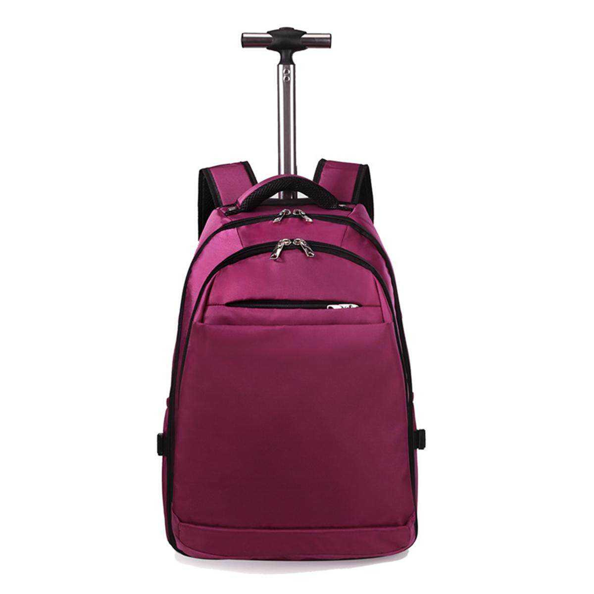 20 inch Wheeled Laptop Trolley Boarding Suitcase Luggage Backpack Rucksack Bags Student