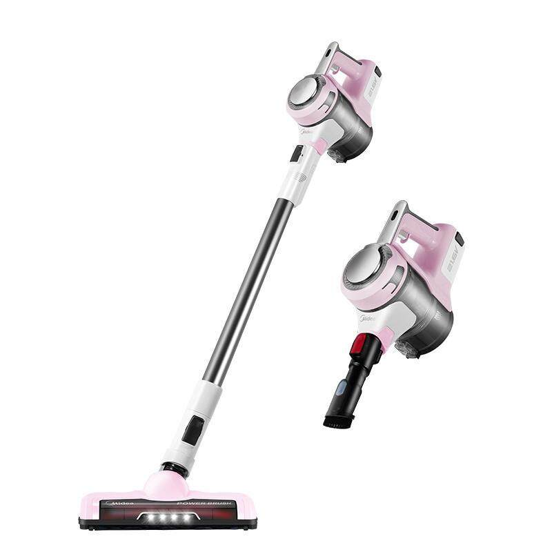 Midea P3pink 2 in 1 Cordless Vacuum Cleaner LED Handheld Stick Lightweight, 9Kpa Powerful Suction,Suitable for Home and Car Singapore