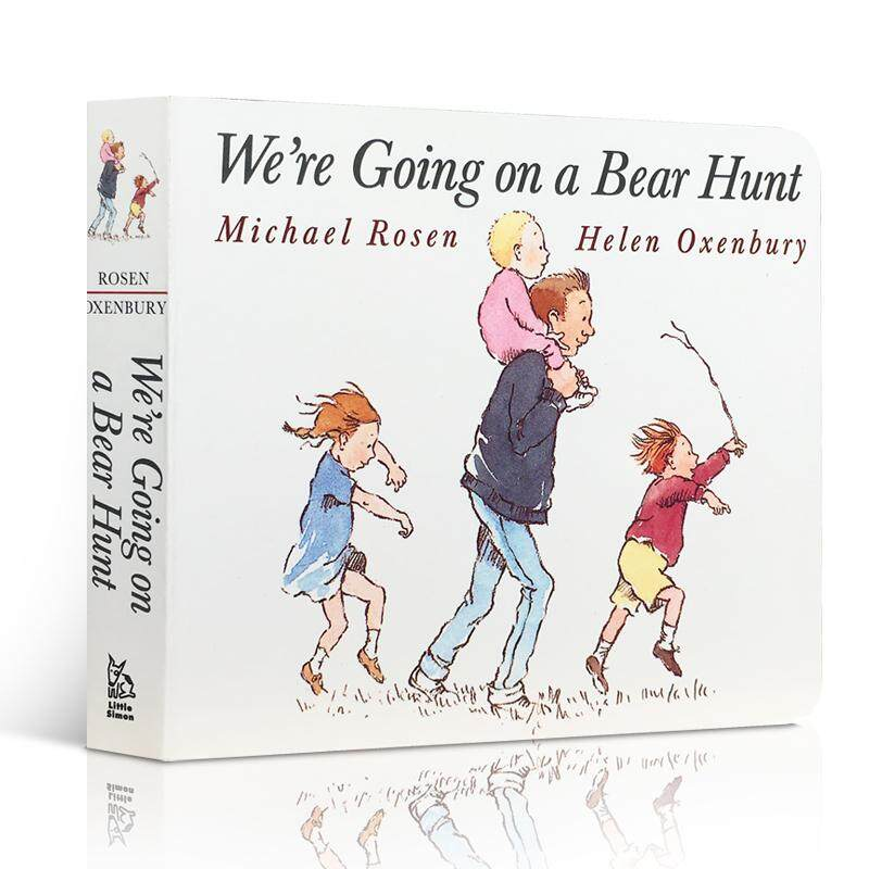 【 Free Audio 】English Original Import Picture Book We're Are Going on A Bear Hunt Children English Initiation Board Book 2-3-6 Years Old