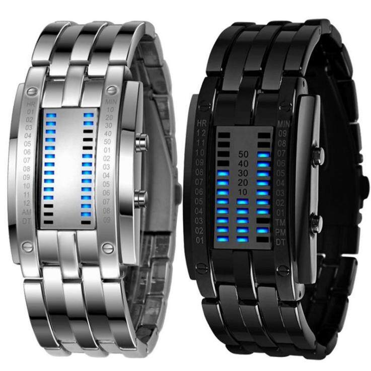 Belzoni Stylish with rectangle LED Bracelet Watch Waterproof Iron Samurai Japan Malaysia