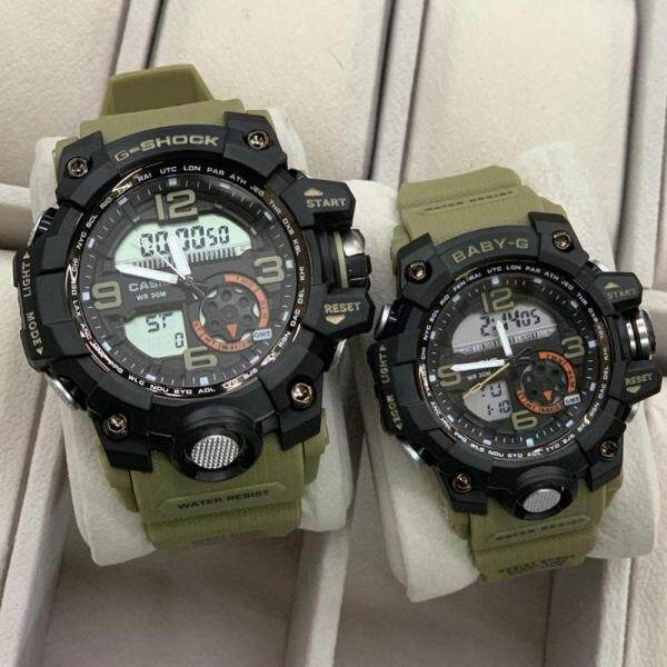 Sports Addition Casio Mens G_Shock_Couple Set Watches For Man And Women Malaysia
