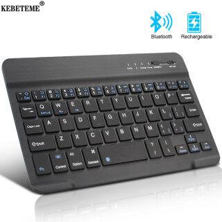 Bàn Phím Bluetooth Mini KEBETEME Cho iPad Mac Hỗ Trợ Cho Hệ Điều Hành IOS Android Windows thumbnail