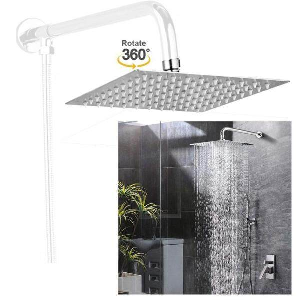 8 Inch Square Bathroom Stainless Steel Rain Shower Head Only