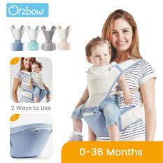 Orzbow 2 Trong 1 Địu Em Bé Với Địu Em Bé, Ergonomic Tay-Miễn Phí Địu Em Bé Hãng Cho Trẻ Sơ Sinh Toddler Trẻ Em, Bốn Mùa Thoáng Khí
