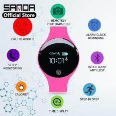 Đồng Hồ Thông Minh Bluetooth Cho Nam Nữ SANDA, Máy Đếm Bước Thông Minh Thể Thao Đa Chức Năng Kỹ Thuật Số Có Đèn đồng Hồ LED Nữ