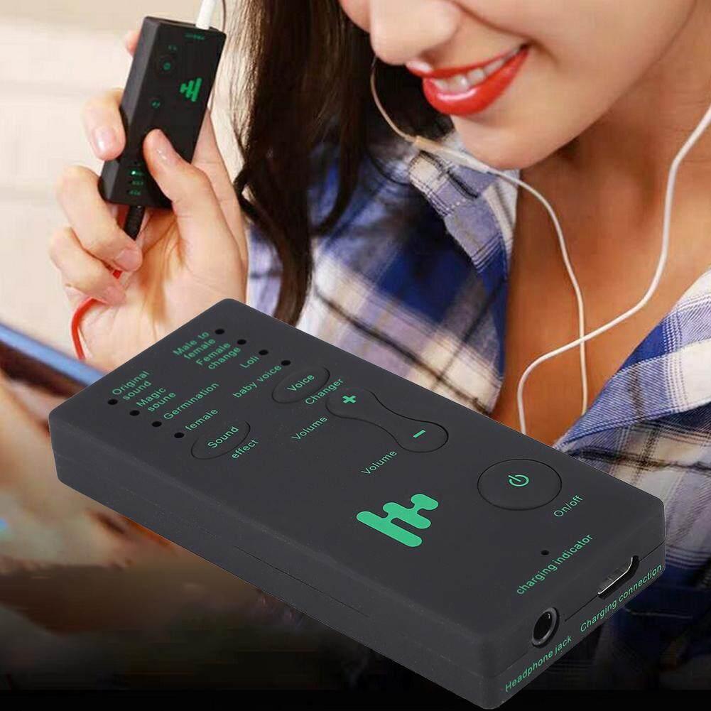 Giá 400 MAh/3.7 V Điện Thoại Di Động Webcast Sống Card Âm Thanh USB Bên Ngoài Thay Đổi Giọng Nói