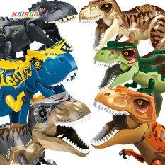 Khủng long khối xây dựng công viên kỷ Jura Khủng Long Thế Giới 2 legos DIY lắp ráp gạch hình Dino Tyrannosaurus Rex pterizard Raptor đồ chơi trẻ em Quà tặng trẻ em