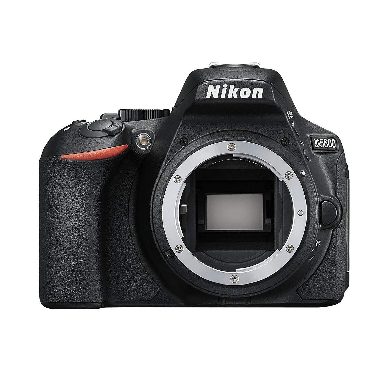 Nikon Digital Single-Lensa Reflek Kamera D5600 Tubuh Hitam D5600BK