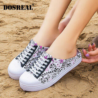 DOSREAL Women Sandals Jelly Shoes Big Size 41 Korean Fashion Beach Slippers For Women Slip On Casual Outdoor Sandals Women Shoes thumbnail