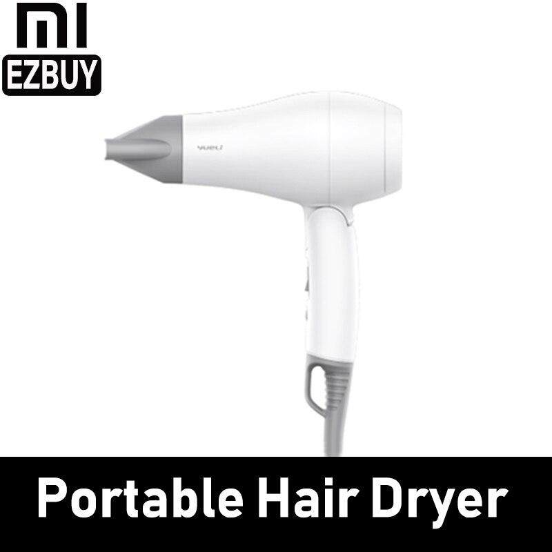 Youpin Yueli Mini Portable Dryer 1200W Travel 220V/110V Folding Fast Hair Dry Compact Overheat Protection Home Hotel