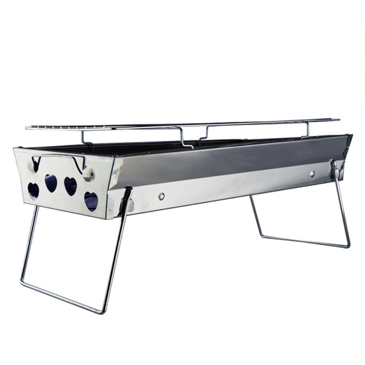 Hot Sale Stainless Steel BBQ Grill Folding BBQ Grill Barbecue Charcoal Grilling Tool