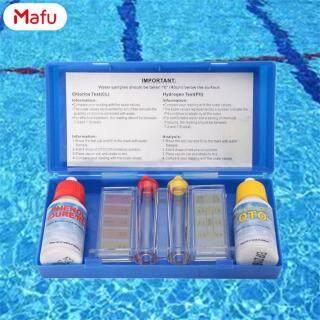 Mafu 1 Bộ Dụng Cụ Kiểm Tra Chất Lượng Nước PH Clo, Bộ Dụng Cụ Kiểm Tra Thủy Lực Phụ Kiện Cho Bể Bơi thumbnail
