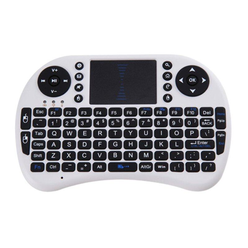 2.4G Rechargeable Wireless Air Mouse Keyboard with Touchpad 104554 Singapore