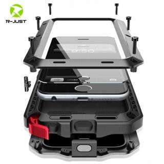 Ốp Điện Thoại Kim Loại Chống Nước Chống Sốc Doom Armor Sang Trọng Dành Cho iPhone 11 Pro Max X XR XS Max 8 7 6 6S Plus 5 5S SE 2020 Miếng Dán Kính Màn Hình thumbnail