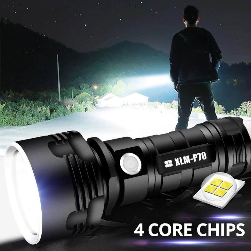 Deal tại Lazada cho Đèn Pin LED Sạc USB Siêu Sáng Chống Thấm Nước HK Ya