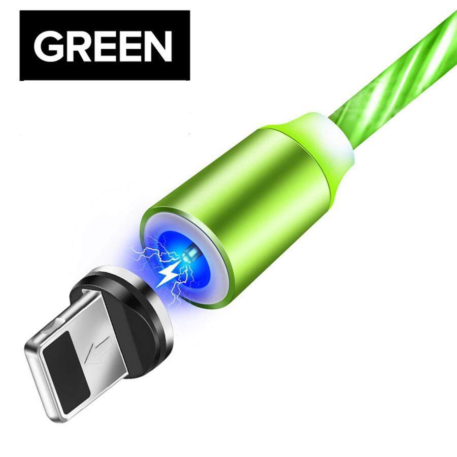 Toosci 1 M Pencahayaan Usb Mikro Magnetik Kabel untuk iPhone Samsung Pengisi Daya Android Tipe C Magnet Tanggal Kabel Charger