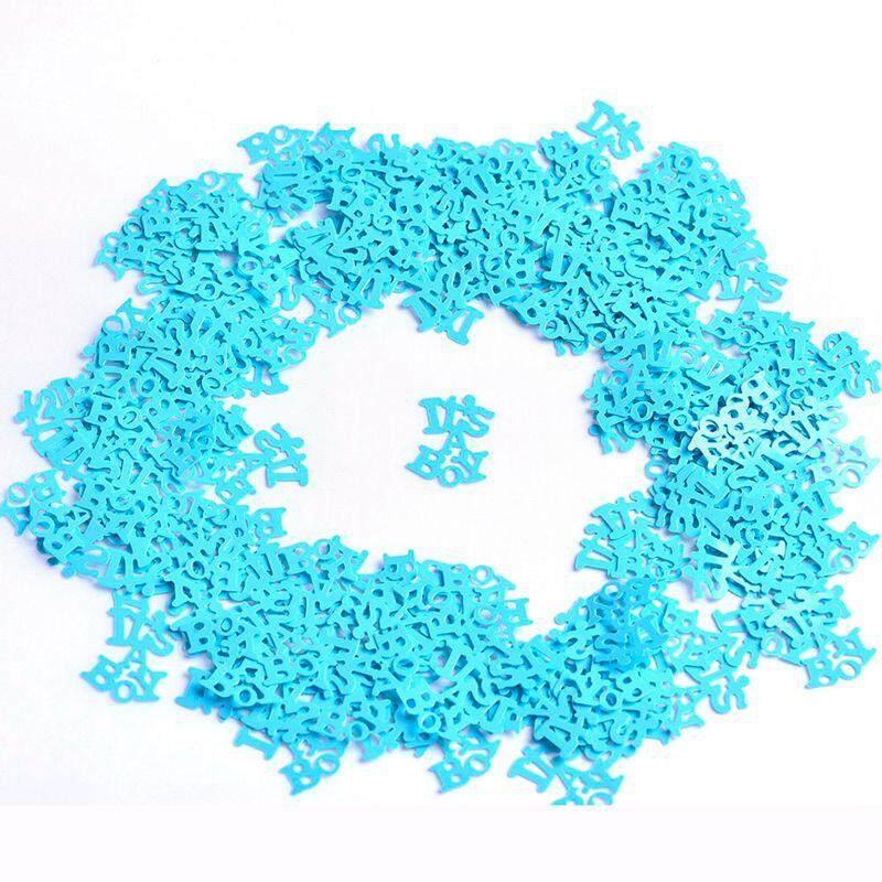 Great for Table Decor at Parties. 15g 1 pack Baby Boy Shower Confetti