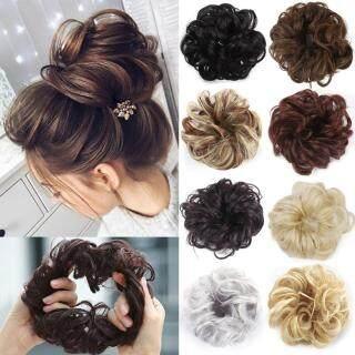 Zhixin Wig Keriting Serat Sintetis, Wig Rambut Palsu, Wig Ekstensi Rambut, Wig Keriting, Serat Sintetis, Hiasan Rambut untuk Wanita thumbnail