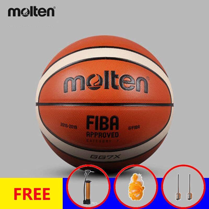 57f503d420ab0d (Free ball needle net and Inflator)Molten GG7X Basketball Ball PU Materia  Official Size7