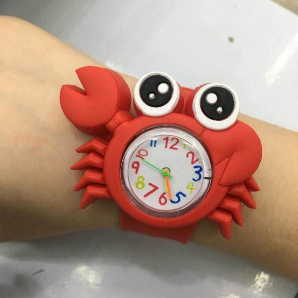 HZP New Cute Animal Cartoon Silicone Band Bracelet Wristband Watch For Babies Kids Malaysia