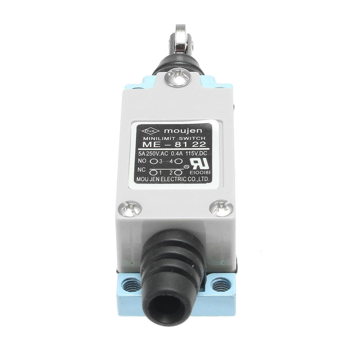 8122 Limit Switch Ip65 Aktuator: Roller Batang Pancing Lengan Kumparan Pegas Tombol Nc Tanpa By Motorup.