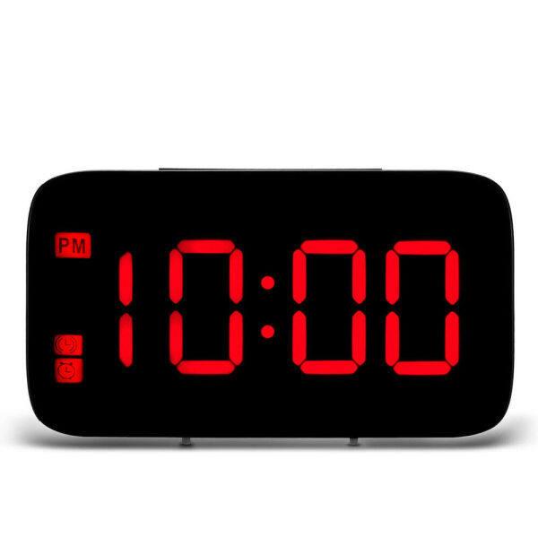 【Sẵn Sàng】 Đồng Hồ Báo Thức Mới Đồng Hồ Kỹ Thuật Số Màn Hình LED USB Hoạt Động Bằng Pin Cho Phòng Ngủ Cạnh Giường bán chạy