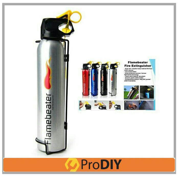 0.5kg Firebeater Auto Fire Extinguisher Portable Car Home (random Colour) By Prodiy Shop.