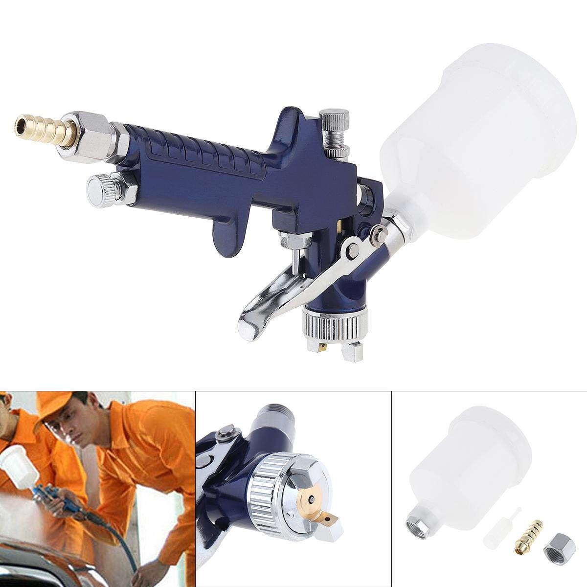 Mini Handle H-2000 Aluminum Alloy Pneumatic Spray Tool with 1.0mm Diameter Nozzle for Furniture / Car Painting