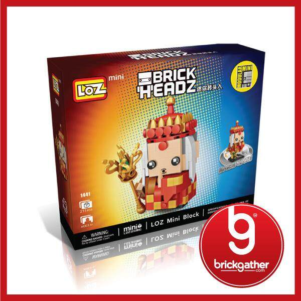 LOZ MINI BLOCK - THE WEST MASTER JOURNEY TO THE WEST 1441 Toys for boys