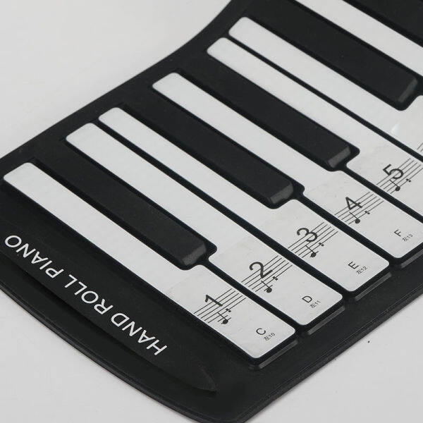 【IN STOCK】 Đàn Piano Trong Suốt 61 Phím 54 Phím Nút Bàn Phím 88 Phím Hợp Âm Piano Thanh Phím Ghi Chú Cho Nhân Viên