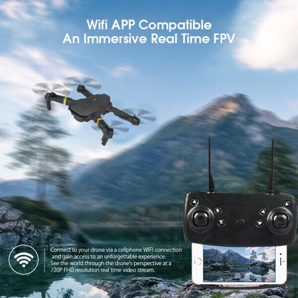 E58 Máy Bay Gấp Trên Không UAV HD Camera 4 K Chế Độ Giữ Trên Cao Cánh Tay Có Thể Gập Lại RC Wifi Tự Động Trở Lại Camera Trên Không Di Chuột Trên Không